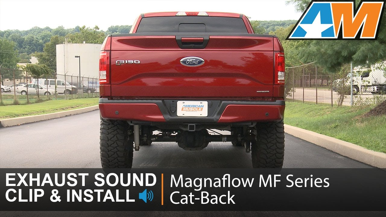 Cat Back Exhaust Sound Clip