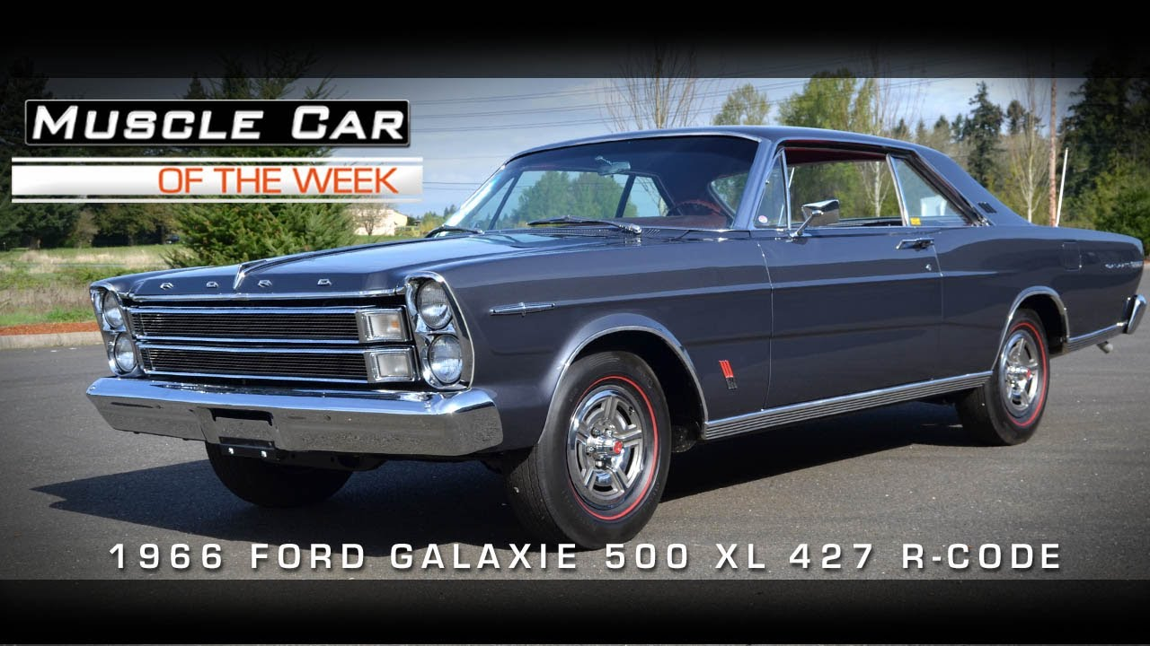 1963 ford galaxie 500 427 - Muscle Car Of The Week Video 7 1966 Galaxie 500 Xl R Code 427 Youtube