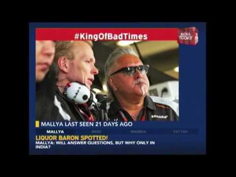 Vijay Mallya Makes Public Appearance In UK