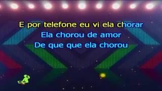 Rasta Chinela Ela chorou de amor Karaoke