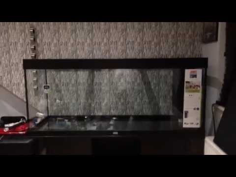 Juwel Rio 400 Aquarium setup part 1