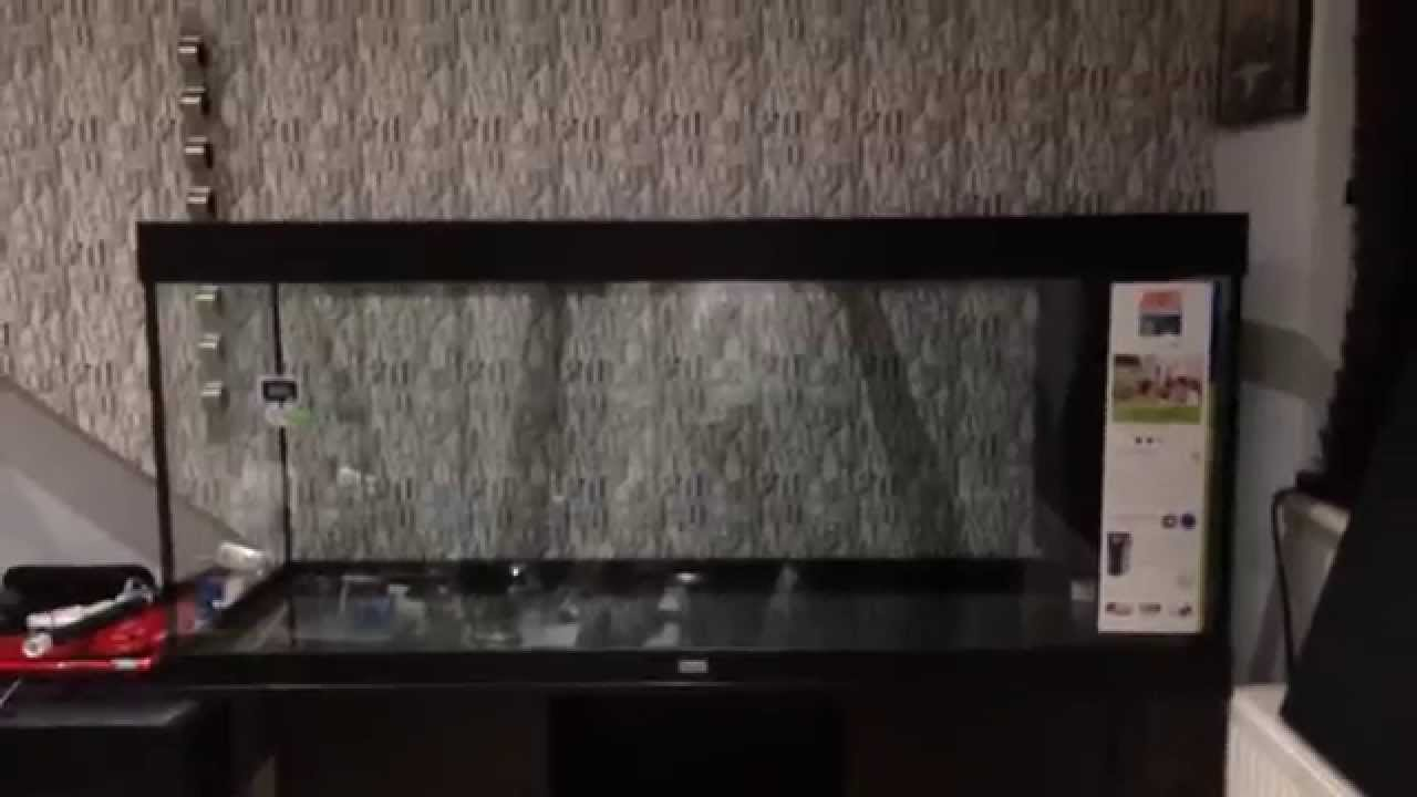 juwel rio 400 aquarium setup part 1 youtube. Black Bedroom Furniture Sets. Home Design Ideas