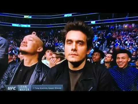 John Mayer On Instagram Stories- UFC 245- Las Vegas,Nevada- December 14,2019