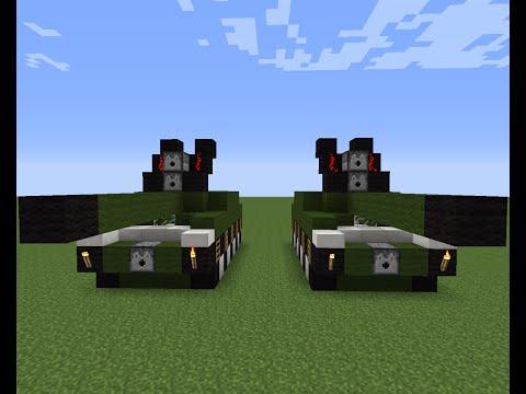(Hướng dẫn)Cách build 1 chiếc xe tăng đơn giản :3