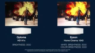 Optoma HD141x vs. Epson HC1040