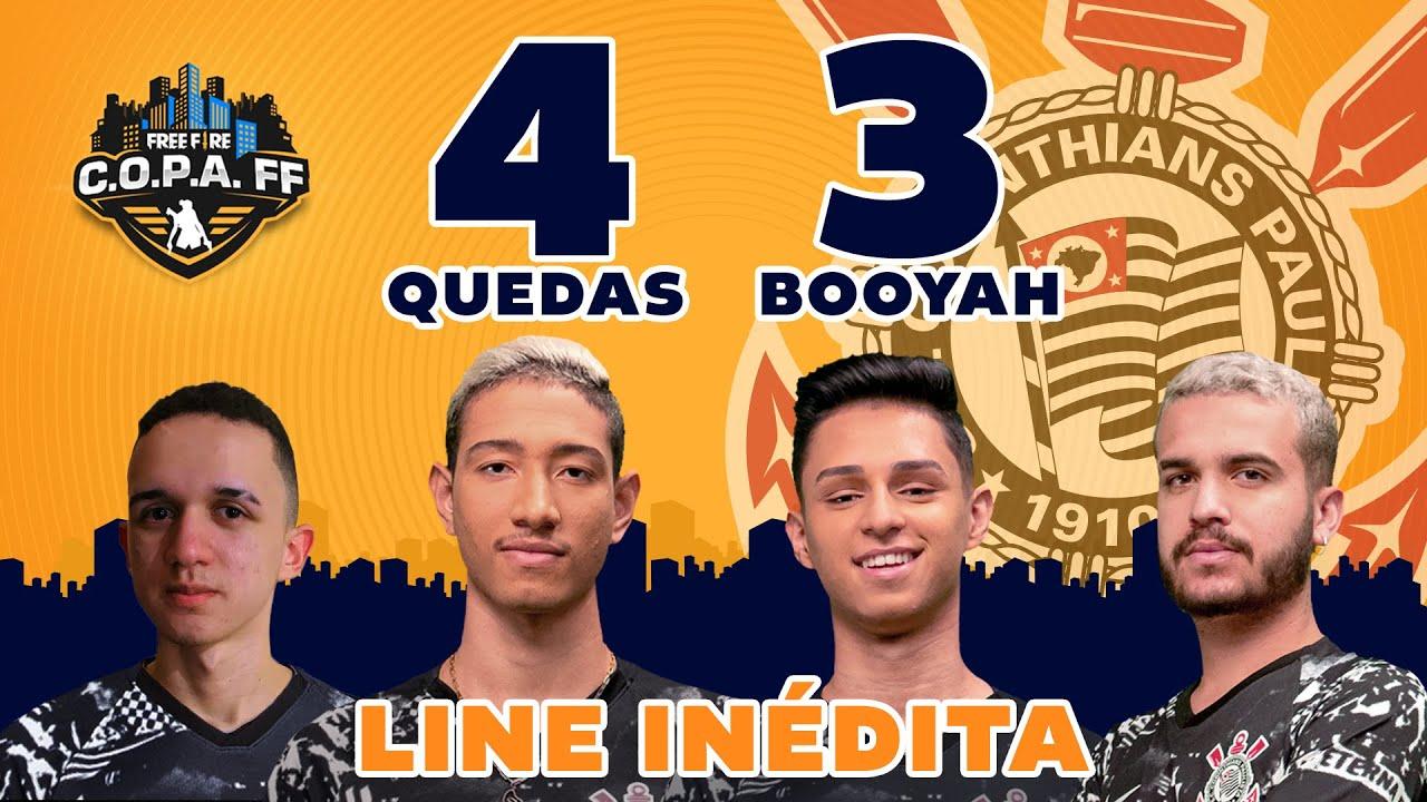 CORINTHIANS BRILHA COM 3 BOOYAH E DISPARA NA TABELA! | Clipadas Semana 6 #CopaFF