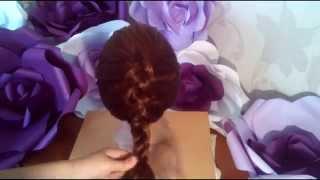 плетени косы наоборот