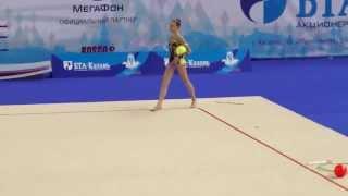 Петрова Олеся,мяч. Первенство России по художественной гимнастике 2014