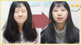 {이승인} 폭탄머리 셀프 매직으로 구제 작전