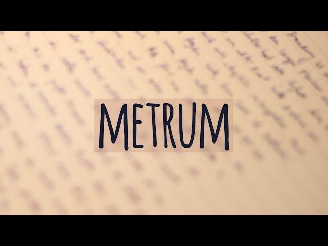 Deutsch Lernen Die Metren Der Gedichtinterpretation 15