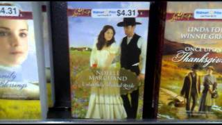 Noelle Marchand finds novel at Walmart