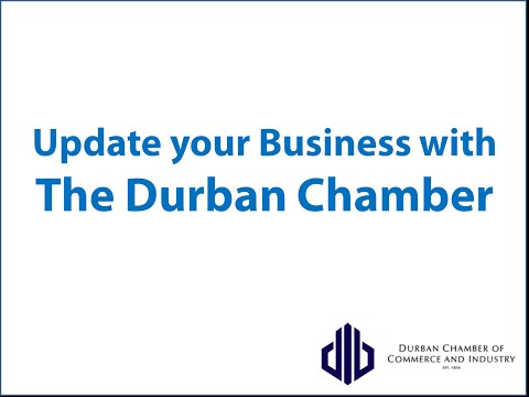 Update your Business Info - Durban Chamber of Commerce and Industry