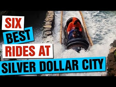 SIX BEST Rides At SILVER DOLLAR CITY In Branson, Missouri!