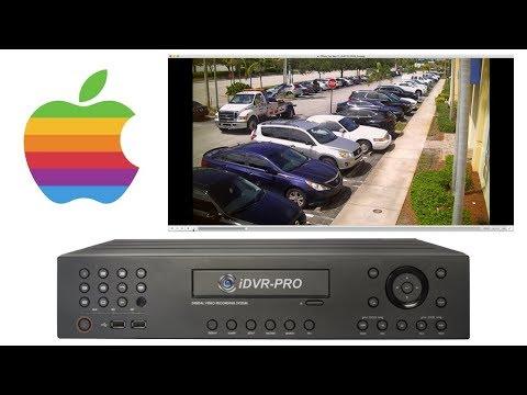 Recorded Video Surveillance Backup - iDVR-PRO HD CCTV DVR to Mac PC