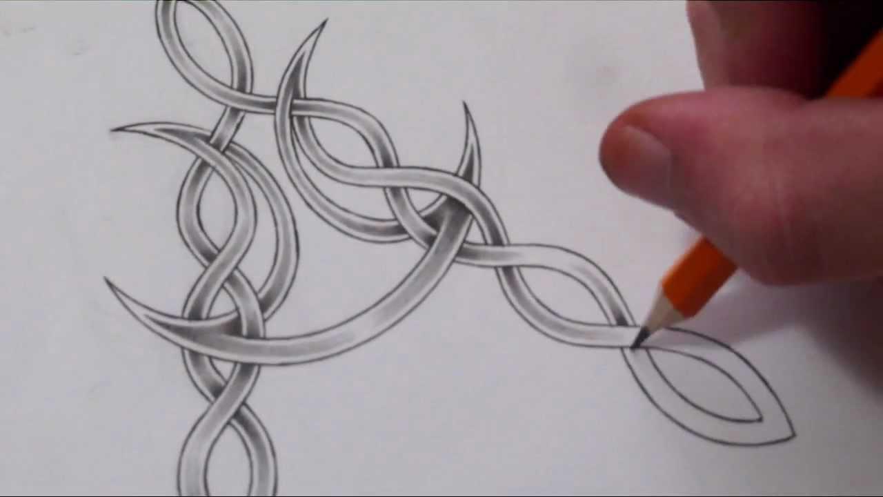 celtic letter v