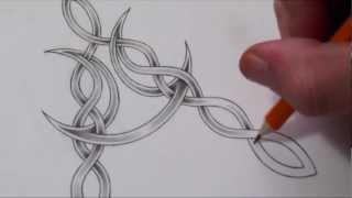 Designing a Celtic Letter A
