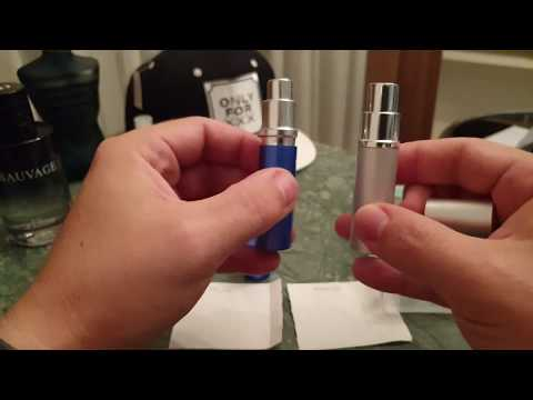 5ml Atomizer Review Dasio Vs Miniso (easy To Find In Thailand)
