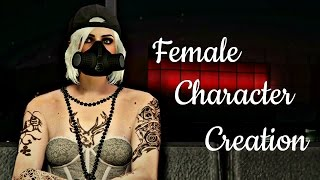 GTA 5 Online - My Female Character Creation