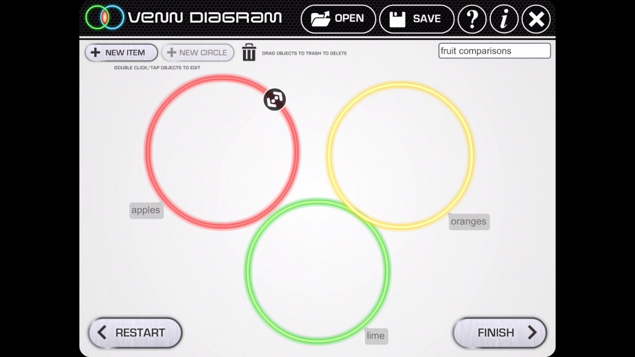 Venn diagram app youtube venn diagram app ccuart Gallery