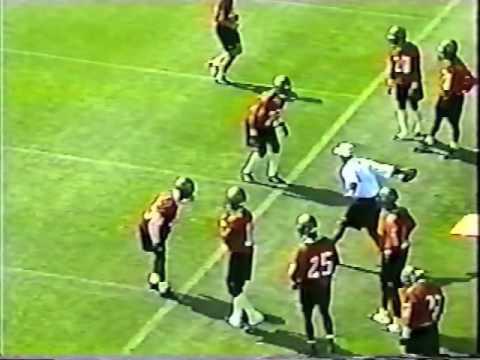 Defensive Back Drills Tampa Bay Buccaneers