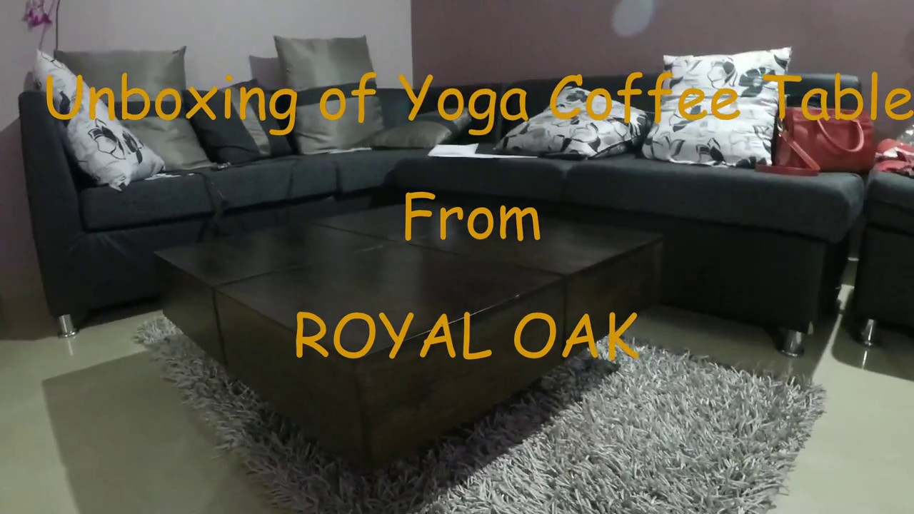 Royal Oak Yoga Coffee Table (Mahogany)