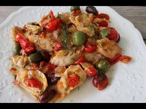 Mediterranean White Fish (gluten Free And Paleo)