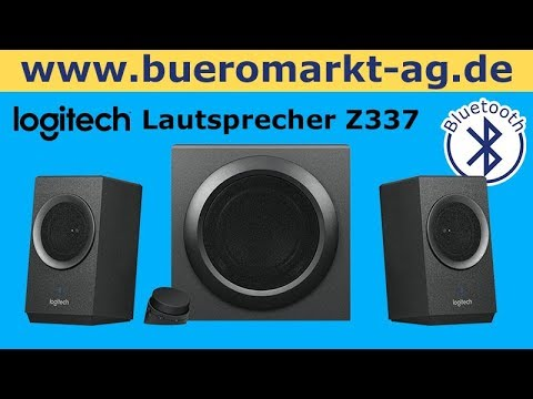 logitech lautsprecher z337 schwarz mit bluetooth f r. Black Bedroom Furniture Sets. Home Design Ideas