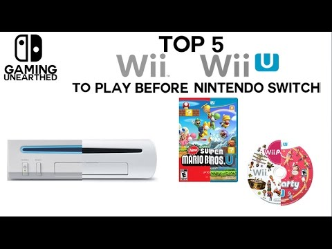 Top 5 Wii And Wii U Games To Play Before Nintendo Switch