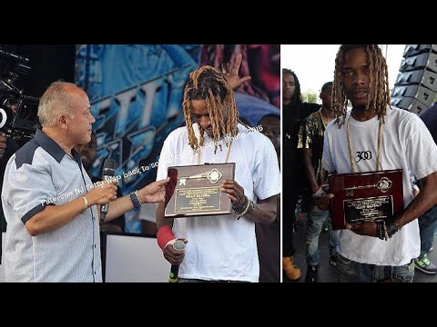 Fetty Wap Awarded the Key to the City of Paterson by the Mayor and Gives Free Concert!