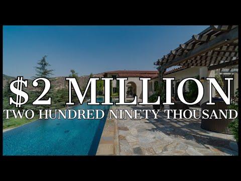 $2,290,000 | LUXURY ITALIAN VILLA ~ Nestled in the mountains