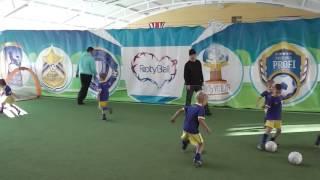 Футибол, аттестация с родителями, footyball Киев