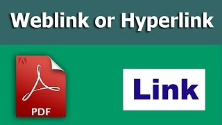 How to create a weblink or hyperlink in pdf form using adobe Acrobat Live Cycle