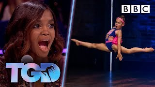 Download lagu Pocket rocket Shyla WOWS with explosive moves The Greatest Dancer Auditions