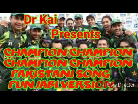 Dj Bravo- CHAMPION CHAMPION PAKISTANI VERSION IN PUNJABI thumbnail