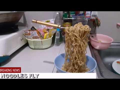 Cara Membuat Noodles Fly (Mie Terbang)