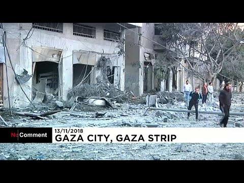Escalada bélgica na Faixa de Gaza