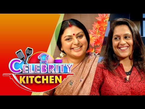 Actresses Raji & Sri Ranjini in Celebrity Kitchen (17/05/2015)