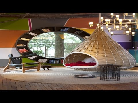 Designer Hanging Bed  Round Bed  Canopy Bed ᴴᴰ