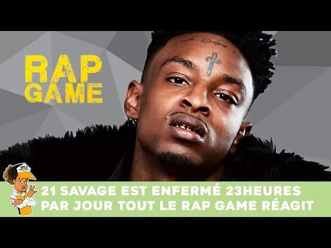 21 Savage est enfermé 23H par jour tout le Rap Game réagit !!!