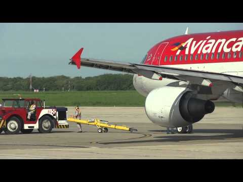 Avianca at Ernesto Cortissoz International Airport - Barranquilla, Colombia HD