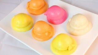 Steamed Hat Buns / Mantou Recipe / 花样馒头