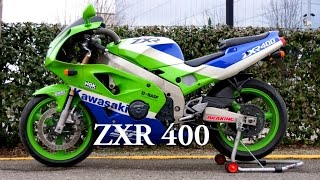 Kawasaki ZXR 400 year 1991 Full restyling
