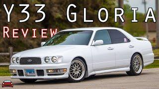 1995 Nissan Gloria Gran Tourismo Ultima Review - Subtle Japanese Power & Luxury
