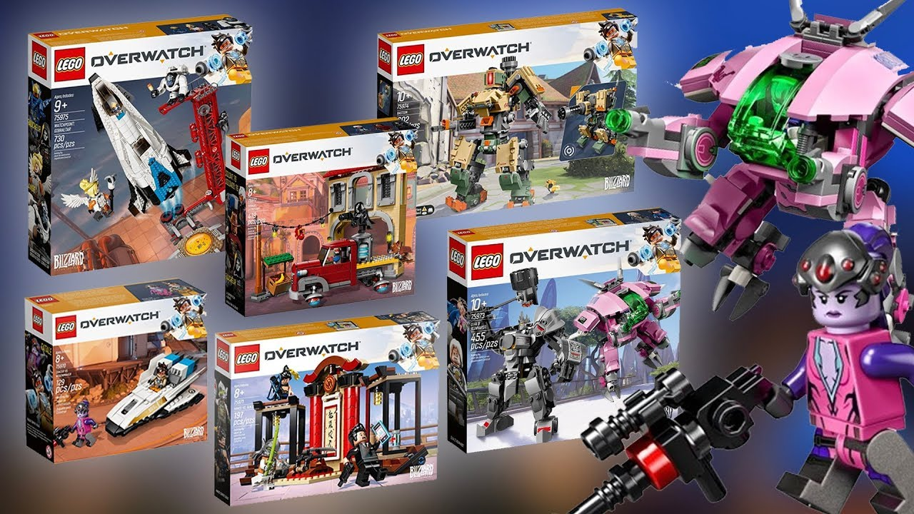 lego overwatch 2019 sets revealed youtube. Black Bedroom Furniture Sets. Home Design Ideas