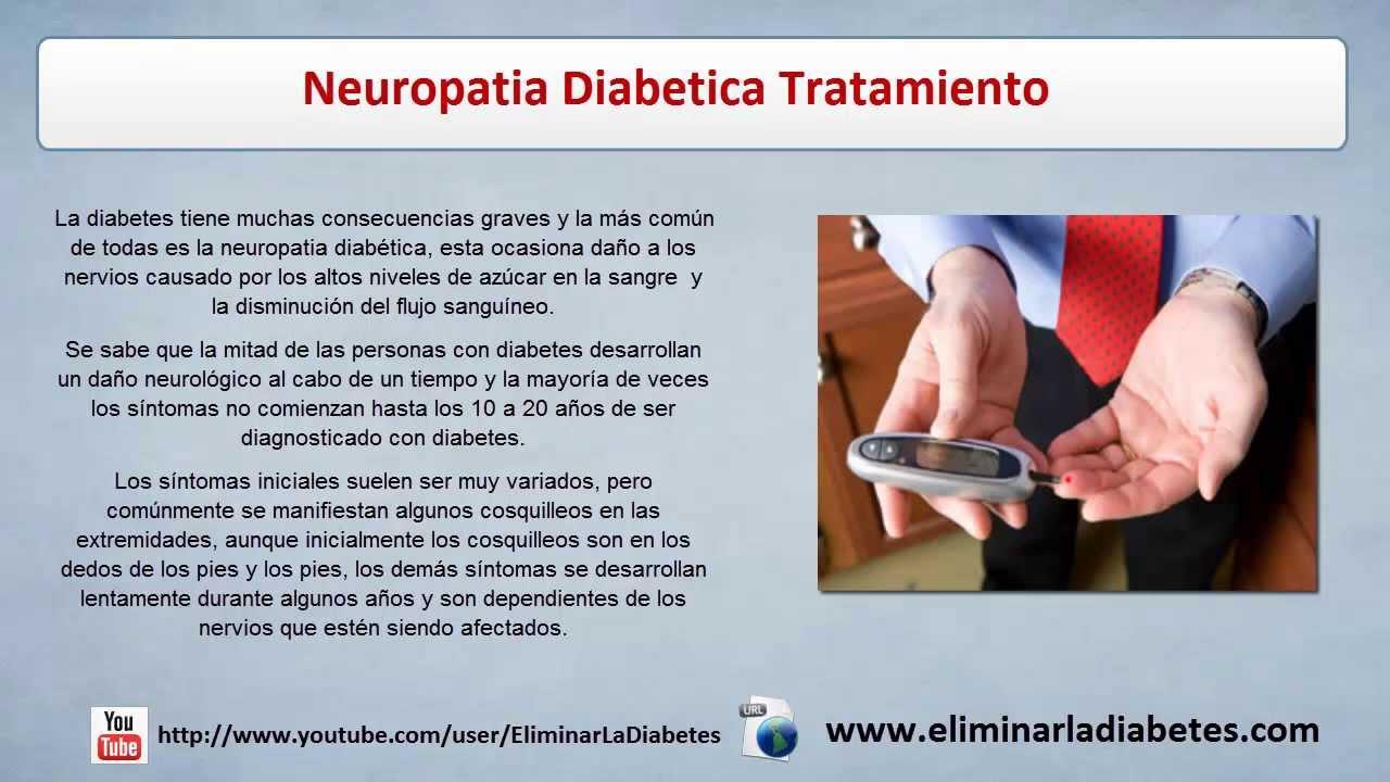 Neuropatia Diabetica Tratamiento | Tratamiento Diabetes