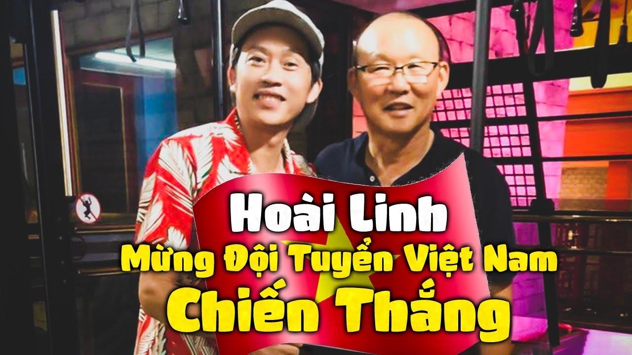 Hoài Linh Mừng Đội Tuyển Việt Nam Chiến Thắng - Hài Hoài Linh Hay Nhất 2019