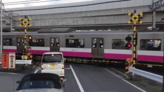 新京成電鉄N800形821編成 新鎌ヶ谷駅付近通過