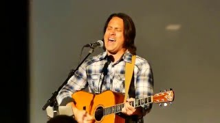 Will Derryberry's acoustic version of 'Great I AM' at Life Community Church