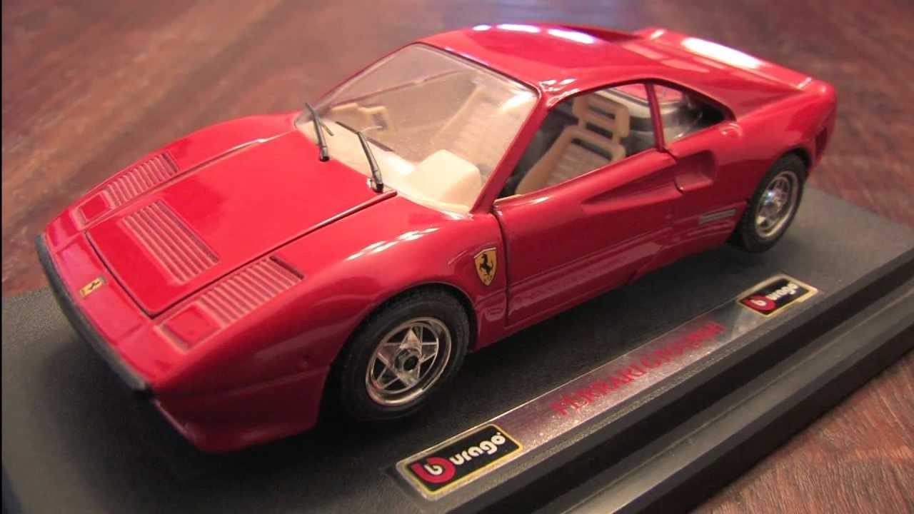 Cgr Garage 1984 Ferrari Gto Bburago 1 24th Scale Car
