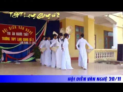 Múa nón - Thương quá Việt Nam - 10A13